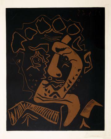 リノリウム彫版 Picasso - LE DANSEUR