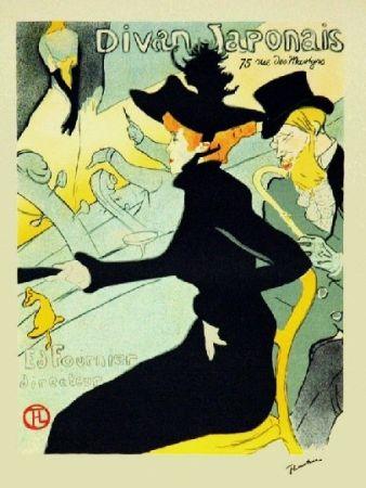 リトグラフ Toulouse-Lautrec - Le divan japonais