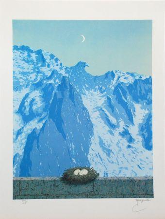 リトグラフ Magritte - Le Domaine d'Arnheim