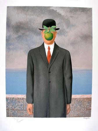 リトグラフ Magritte - Le Fils de l'Homme - The Son of Man