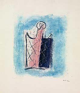 彫版 Fautrier - Le Flacon