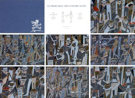 リトグラフ Segui - Le froid bleu des contre nuits 7