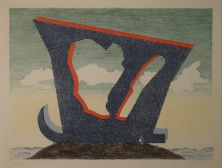 リトグラフ Oppenheim - Le grand liparide, Silberschwanz.