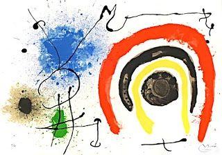 リトグラフ Miró - Le lezard aux plumes d'or