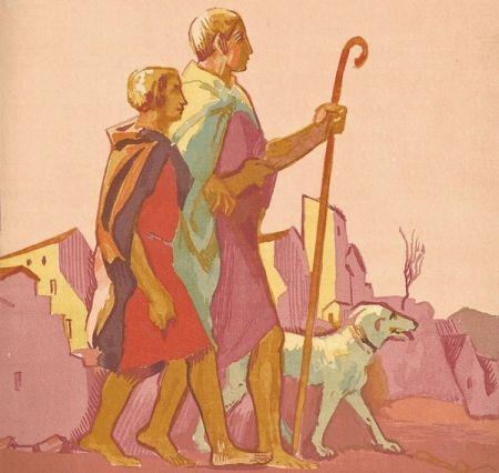 挿絵入り本 Denis - Le Livre de Tobie, Traduit sur la Vulgate.Illustrations de Maurice Denis, Gravées sur bois par Jacques Beltrand