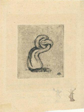 彫版 Meryon - Le malingre cryptogame