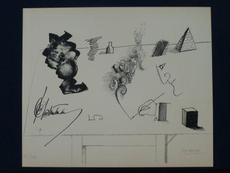 リトグラフ Steinberg - Le masque ,1966