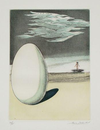 エッチングと アクチアント Laventhol - Le miroir aux alouettes