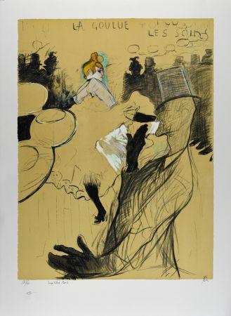 リトグラフ Toulouse-Lautrec - LE MOULIN ROUGE : La Goulue & Valentin le désossé, 1891