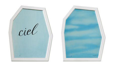 リトグラフ Magritte - Le Palais Des Rideaux