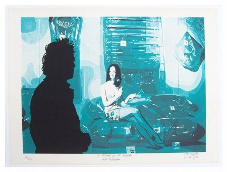 リトグラフ Fromanger - Le peintre et le modèle