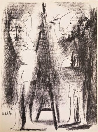 リトグラフ Picasso - Le Peintre et Son Modèle