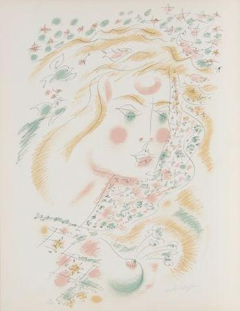 リトグラフ Masson - Le Philosophe au Papillon from Je Reve Portfolio