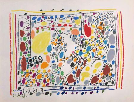 リトグラフ Picasso - Le Picador II