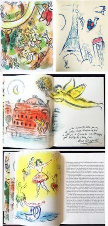挿絵入り本 Chagall - LE PLAFOND DE L'OPERA DE PARIS. Lithographie originale de Marc Chagall (1965).