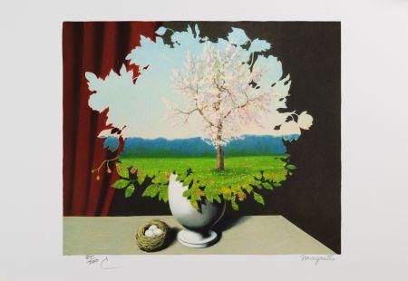 リトグラフ Magritte - Le Plagiat