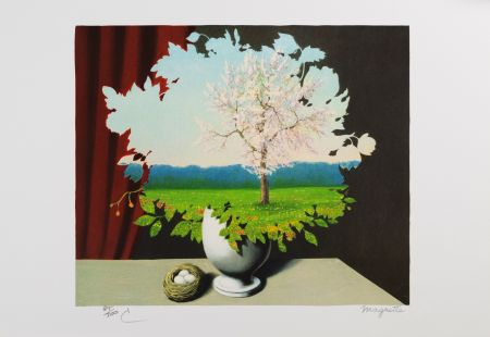 リトグラフ Magritte - Le Plagiat (Plagiary)