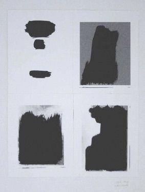 シルクスクリーン Buraglio - Le Plaisir de peindre