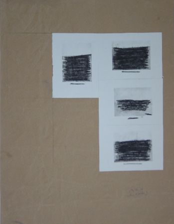 シルクスクリーン Buraglio - Le Plaisir de Peindre, 2