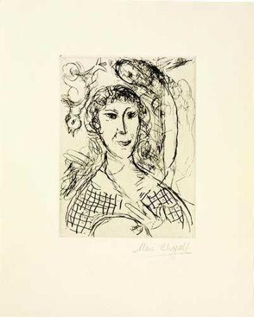 彫版 Chagall - Le portrait du peintre