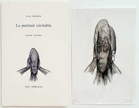 挿絵入り本 Plensa - Le portrait véritable