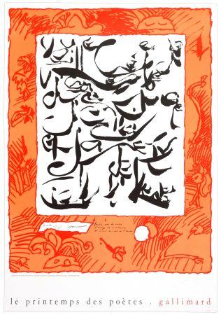 掲示 Alechinsky - Le printemps des poètes, 1999