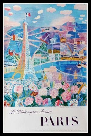 リトグラフ Dufy - LE PRINTEMPS EN FRANCE PARIS