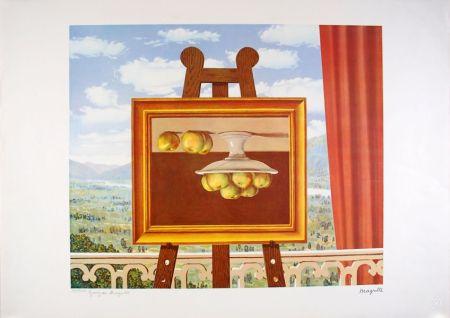 リトグラフ Magritte - Le réveil Matin - The Morning Alarm clock