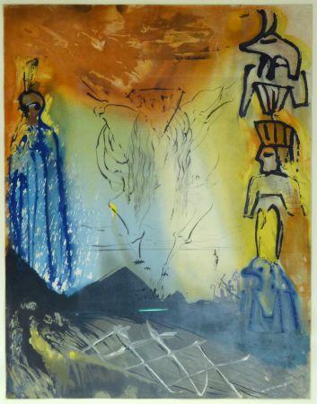 リトグラフ Dali - Le Rêve de Moïse / Moses' Traum