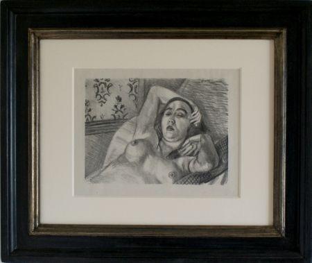 リトグラフ Matisse - Le Repos du Model