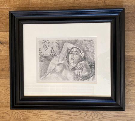 リトグラフ Matisse -  Le repos du modele
