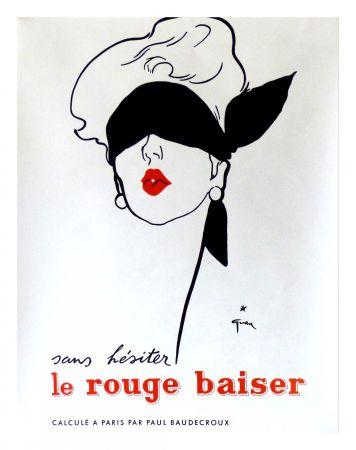 掲示 Gruau - LE ROUGE BAISER