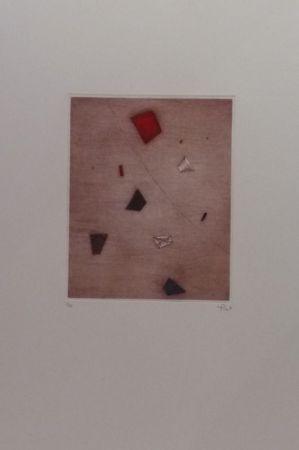 彫版 Piza - Le rouge d'en haut