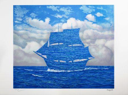 リトグラフ Magritte - Le Séducteur (The Tempter)