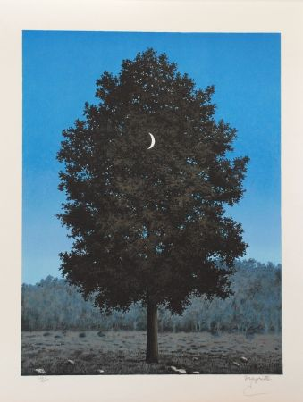 リトグラフ Magritte - Le Seize Septembre