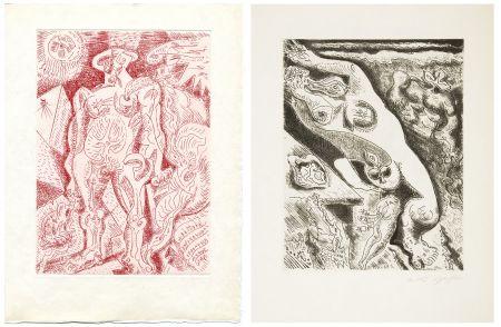 挿絵入り本 Masson - LE SEPTIÈME CHANT. 4 gravures originales (1974)