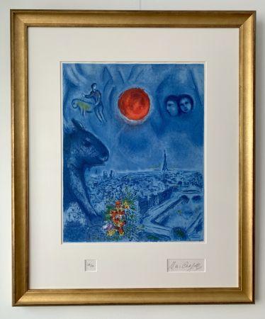 リトグラフ Chagall - Le Soleil de Paris