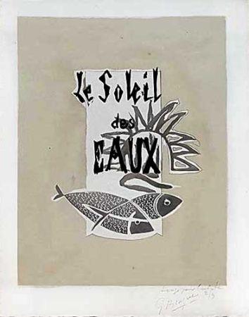 彫版 Braque - Le Soleil Des Eaux