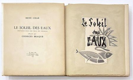 挿絵入り本 Braque - Le soleil des eaux