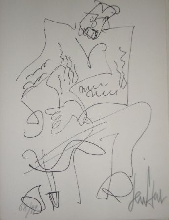 リトグラフ Paul  - Le soliste