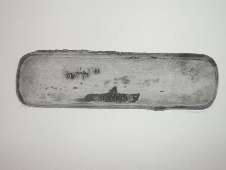 エッチング Favier - Le sous marin France