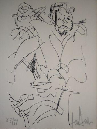 リトグラフ Paul  - Le spectateur