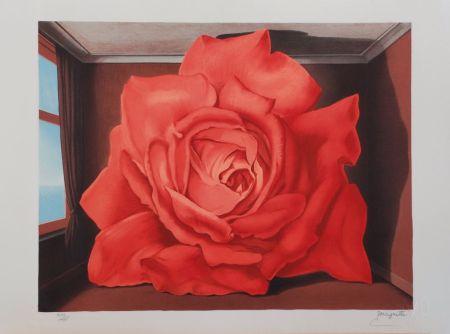 リトグラフ Magritte - Le Tombeau des Lutteurs