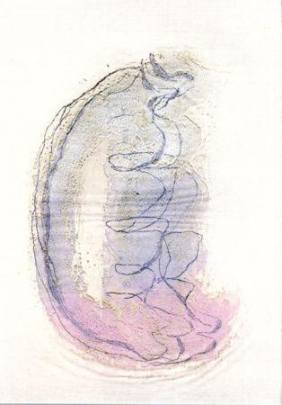 エッチングと アクチアント Fautrier - Le torse de la femme (Fautrier l'enragé)