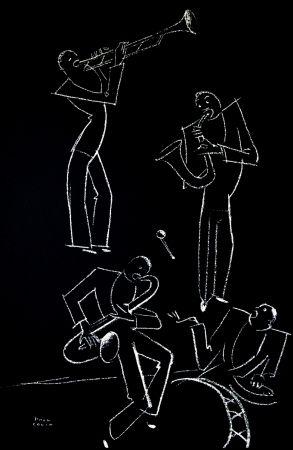 リトグラフ Colin - LE TUMULTE NOIR / BLACK THUNDER - 1927