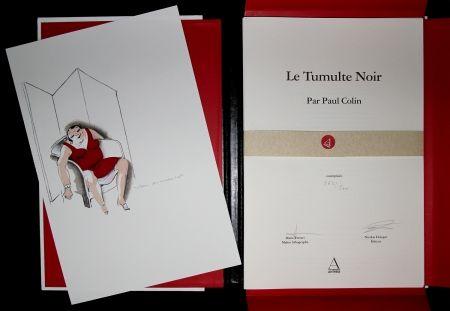 挿絵入り本 Colin - LE TUMULTE NOIR / BLACK THUNDER  - Josephine Baker - 45 Lithographies