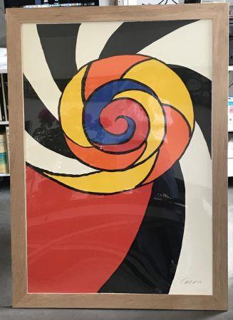 リトグラフ Calder - Le turban , 1969