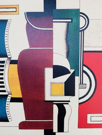 リトグラフ Leger - Le vase