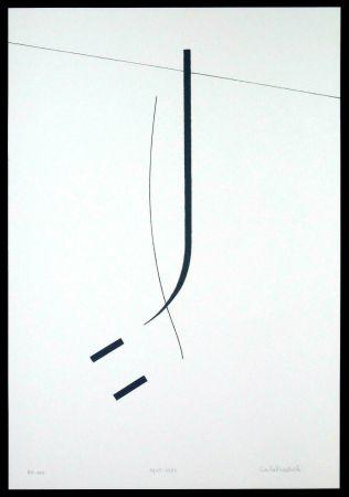 シルクスクリーン Badiali - Le vent se leve (tavola 5)