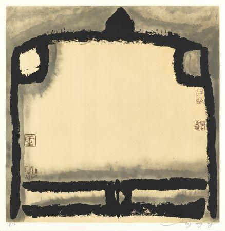 リトグラフ Tongzhengang - Le vide